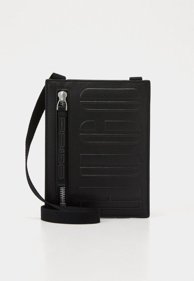 HUGO - TYCOON NECK POUCH  - Across body bag - black