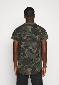 G-Star - LASH R T S\S - T-shirt med print - combat dutch camo - 2