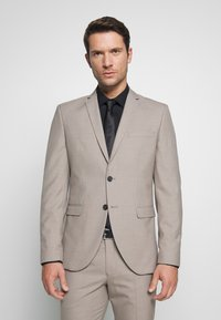 Selected Homme - SLHSLIM SUIT - Kostym - beige - 2
