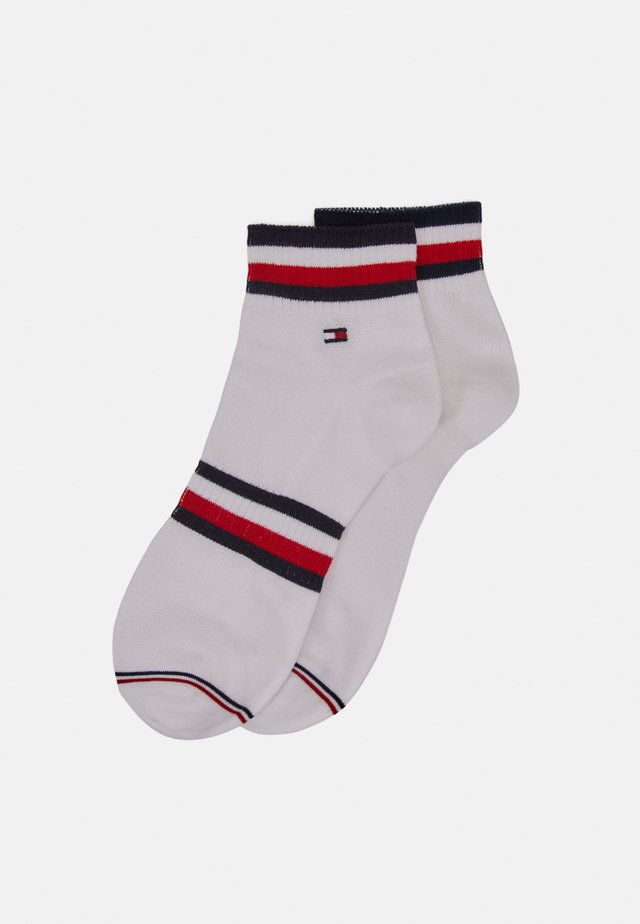 MEN QUARTER PETE 2 PACK - Socks - white