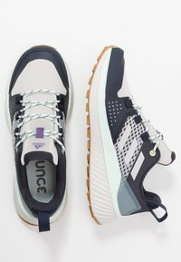 adidas Performance - TERREX FOLGIAN HIKER - Hiking shoes - legend ink/light solid grey/dash green - 1