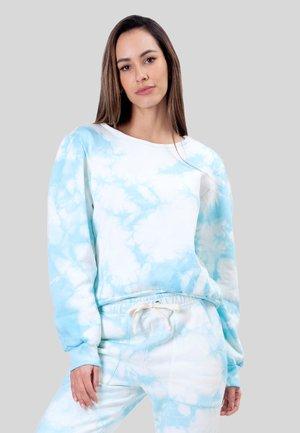 OMBRE TIE DYE - Sweater - blue