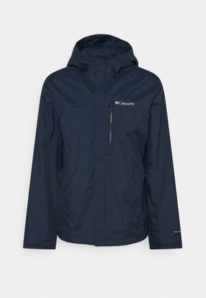 POURING ADVENTURE JACKET - Giacca hard shell - collegiate navy