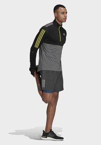 adidas Performance - OWN THE 1/2 RESPONSE PRIMEGREEN RUNNING PULLOVER SWEATSHIRT - Sweatshirt - grey - 1