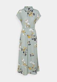 Vero Moda Tall - VMHALLIE LONG TIE DRESS - Maxi dress - green milieu - 0
