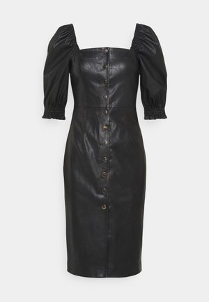 LUNATICO ABITO - Shift dress - black