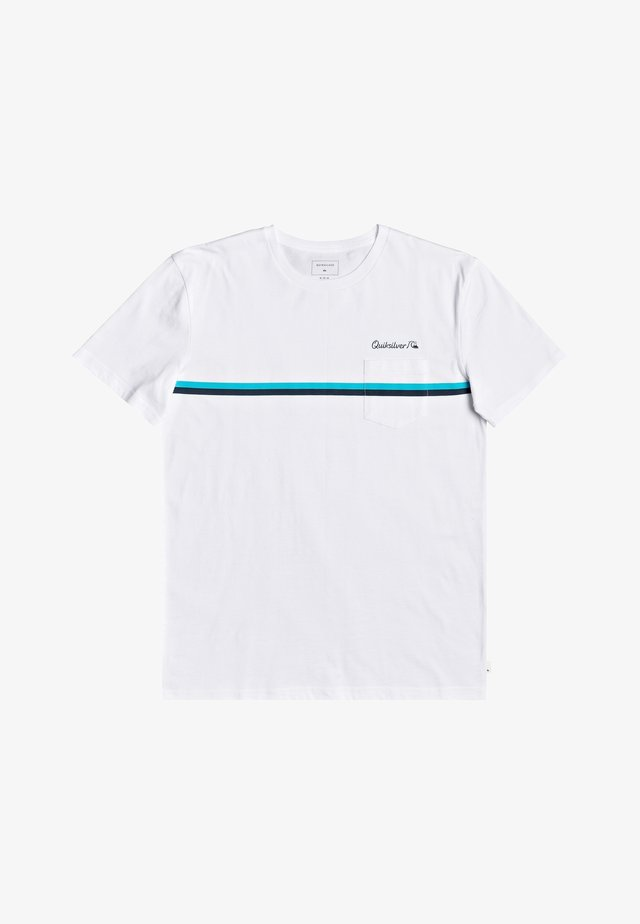 HIGH PIPED  - T-shirt basique - white