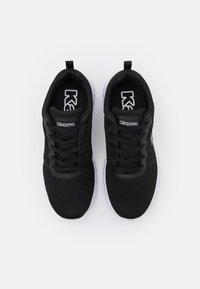 Kappa - CES NC UNISEX - Zapatillas de entrenamiento - black/white - 3