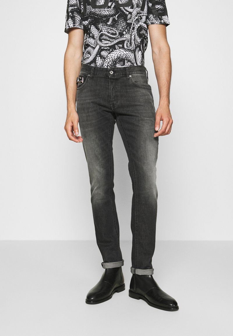 Just Cavalli - PANTALONE - Džíny Slim Fit - black