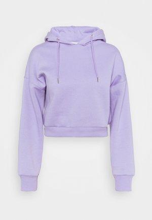 CROPPED HOODIE - Collegepaita - lavender
