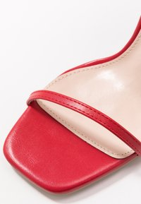 RAID Wide Fit - WIDE FIT SILVINA - Sandaletter - red - 2