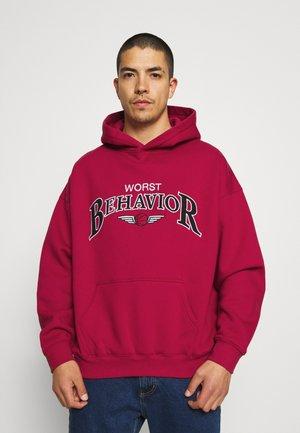 CHICAGO HOODIE UNISEX - Sweatshirt - red