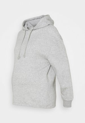 PCMCHILLI HOODIE - Sweater - light grey melange
