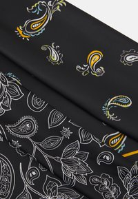 Zign - BANDANAS UNISEX 2 PACK - Huivi - black/multi-coloured - 2