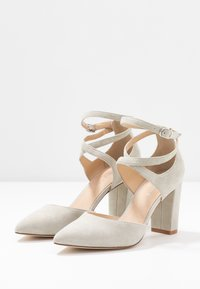 Anna Field - LEATHER CLASSIC HEELS - High heels - grey - 4