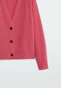 Massimo Dutti - Cardigan - neon pink - 3
