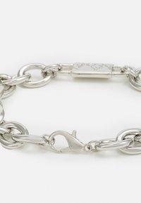 Uncommon Souls - CHUNKY ID LINK BRACELET - Bracciale - silver-coloured - 1