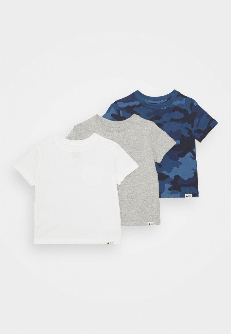 GAP - TODDLER BOY 3 PACK - Print T-shirt - blue