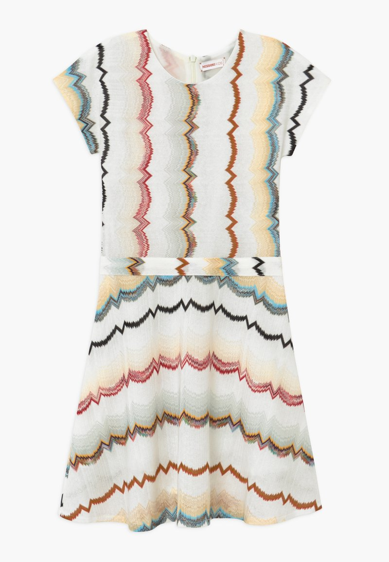 Missoni Kids - Jumper dress - white