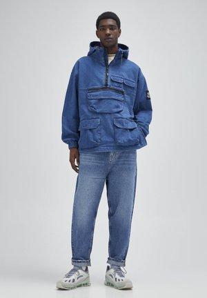 Džíny Straight Fit - blue-grey