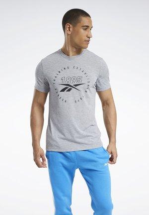 GRAPHIC SERIES SPEEDWICK TEE - Print T-shirt - grey