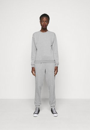 VMNATALIA SET  - Sweatshirt - light grey melange