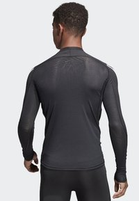 adidas Performance - Alphaskin Sport+ 3-Stripes TeALPHASKIN SPORT+ 3-STRIPES LONG-SLEEVE TOP - Sports shirt - black - 1