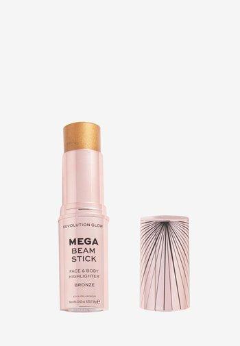REVOLUTION GLOW MEGA BEAM STICK - Highlighter - bronze