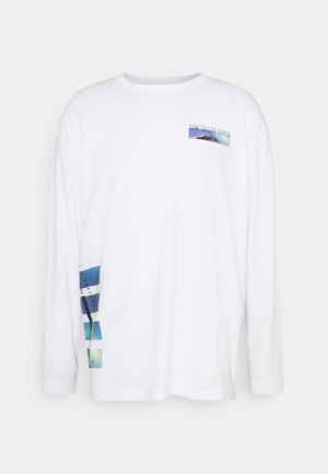 WITH FOTOPRINT - Long sleeved top - white