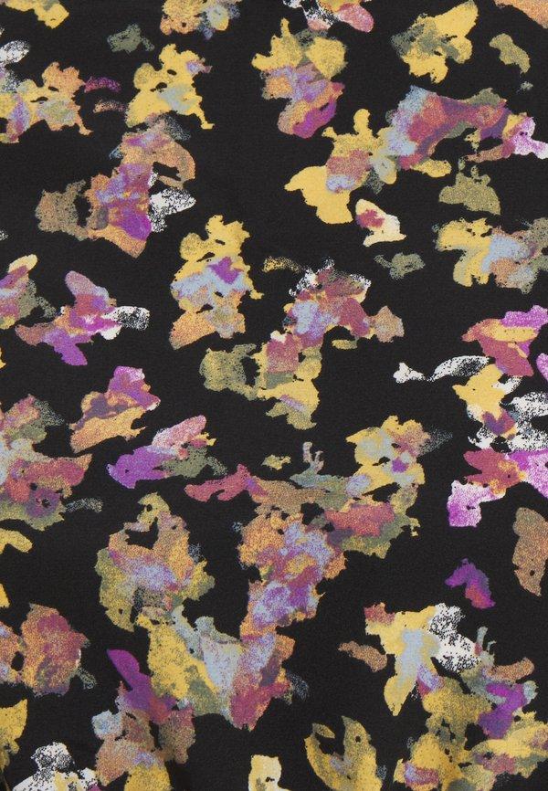 MAMALICIOUS MLEMRA WOVEN TOP - Bluzka - black/snow white/fall leaf/dewberry/czarny NRLS