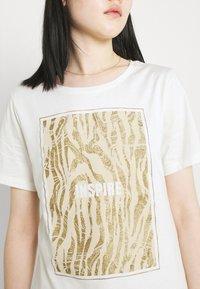 b.young - BXSILLI - Print T-shirt - birch mix - 5
