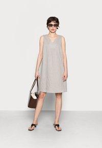 Opus - WOGETA - Denní šaty - pebble stone - 1