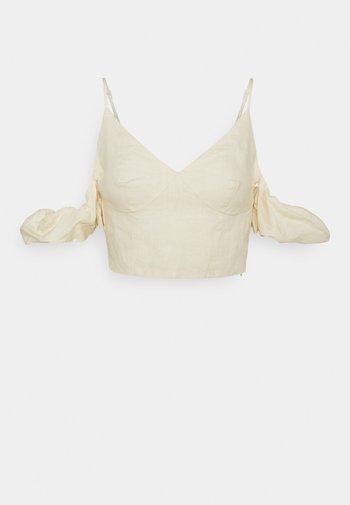 DROPPED SHOULDER  - Toppi - light beige