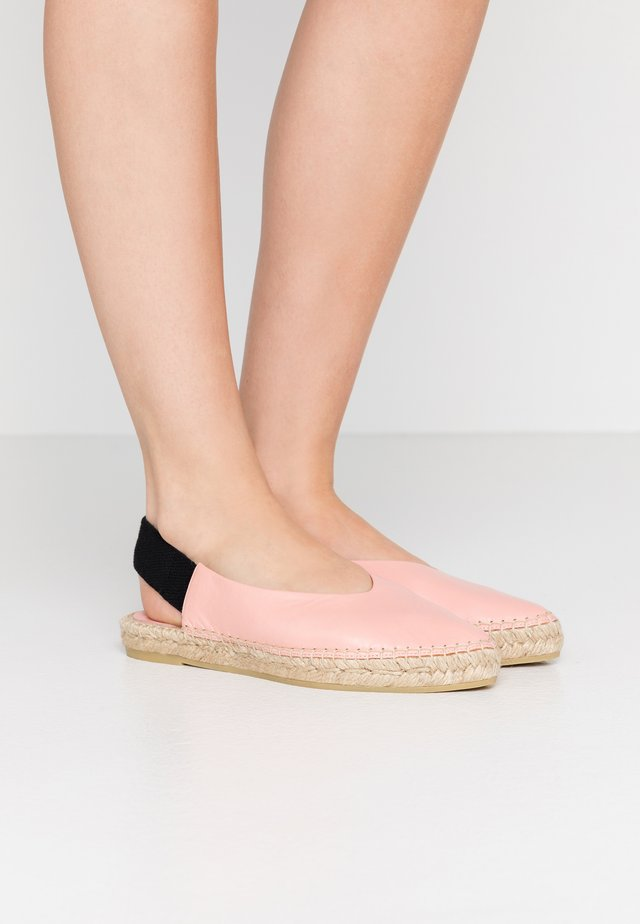 ANNA MADRID - Espadrillot - light pink
