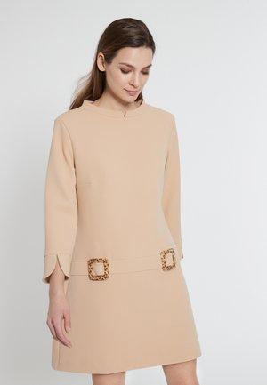 ELCYMA - Jersey dress - beige