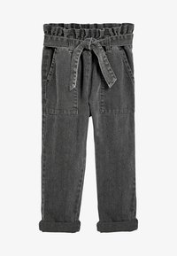 Next - PAPERBAG  - Straight leg jeans - grey - 0
