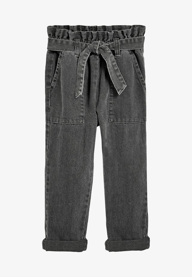 PAPERBAG  - Jeans a sigaretta - grey