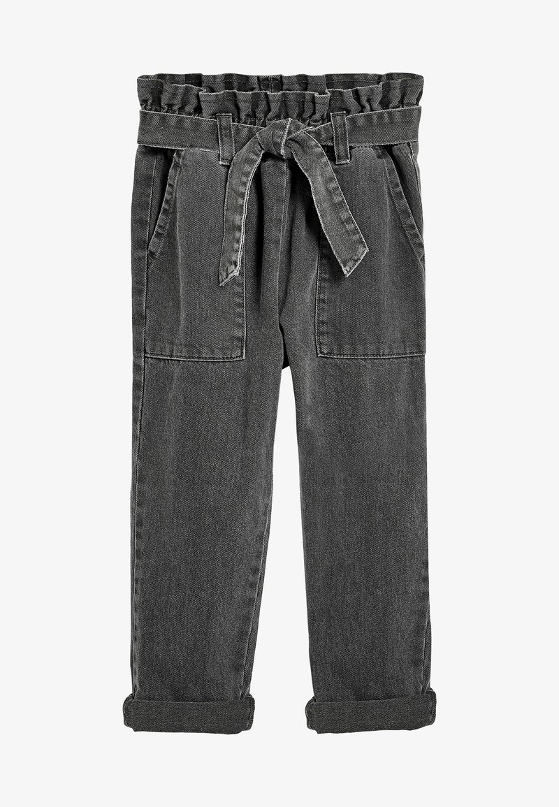 Next - PAPERBAG  - Straight leg jeans - grey