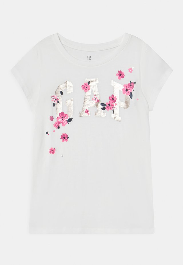 T-shirt con stampa - new off white