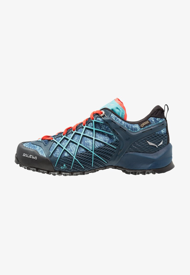 Salewa - WILDFIRE GTX - Hiking shoes - poseidon/capri