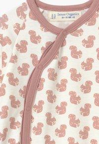 Sense Organics - VALO BABY WRAP GROWSUIT - Pyjama - pink - 3
