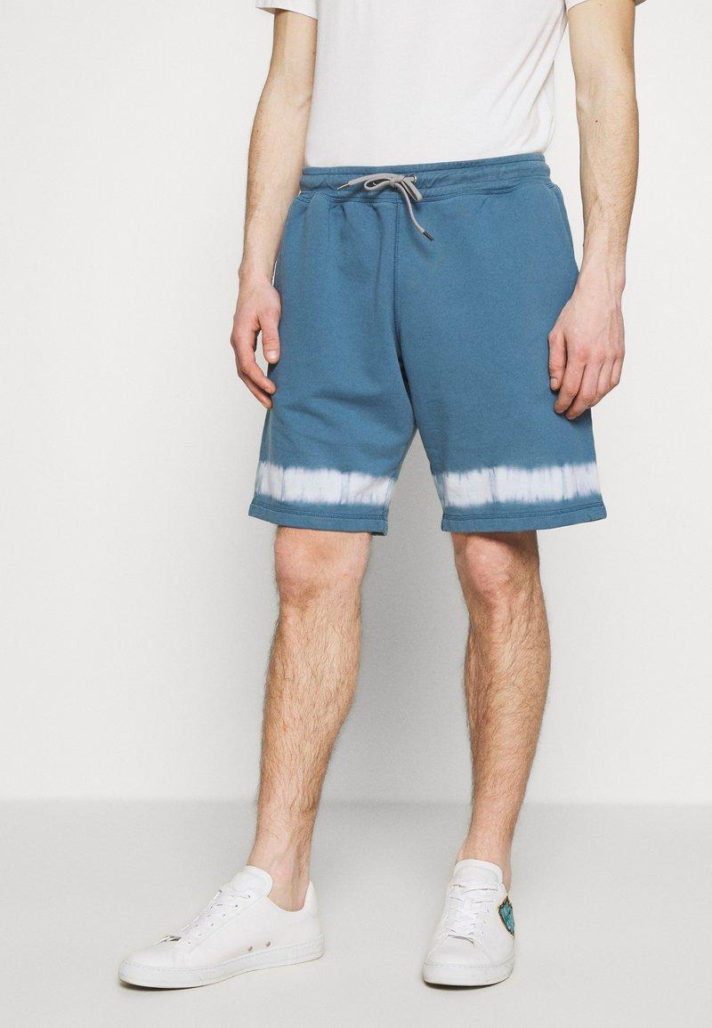 PS Paul Smith - MENS TIE DYE - Tracksuit bottoms - light blue