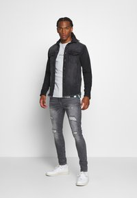 Redefined Rebel - JACKSON JACKET - Overhemd - black/grey - 1