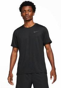 Nike Performance - DRY  - T-shirt basic - black/dark grey - 0