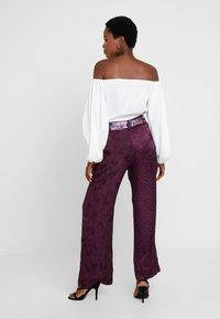 Desigual - PANT TERRY - Spodnie materiałowe - boaba - 2