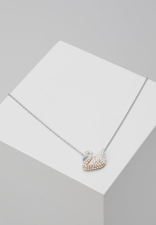 ICONIC SWAN PENDANT  - Necklace - light multi