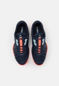 Head - SPRINT TEAM 3.0 CLAY - Tenisové boty na antuku - dress blue/neon red - 3