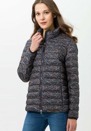 Winter jacket - indigo/sand