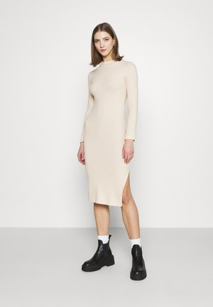 WRAPPED MIDI - Jumper dress - cream