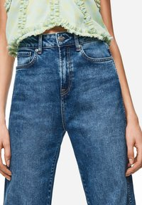 Pepe Jeans - DUA LIPA X PEPE JEANS  - Jeansy Straight Leg - blue denim - 4